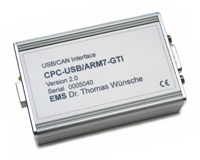 CPC-USB/ARM7 CAN USB Adapter