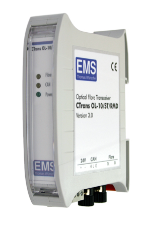 CAN Bus Transceiver can be used as a CAN Bus Repeater - CTrans OL
